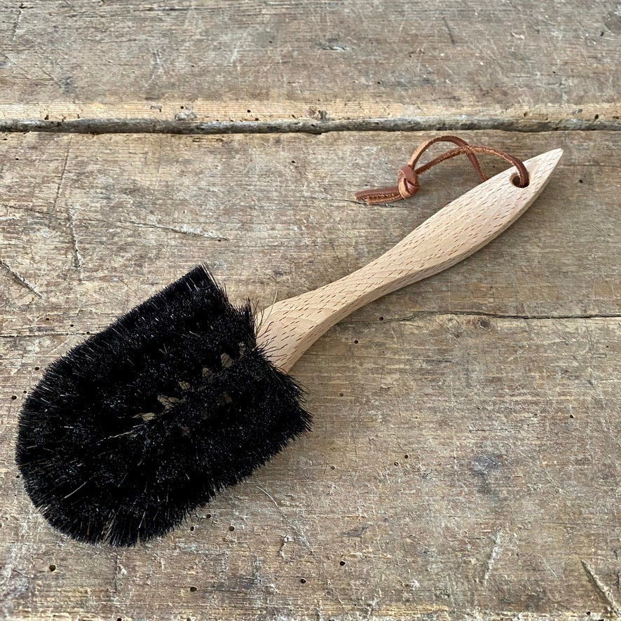 Handled Dish Brush with Soft Bristles