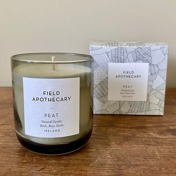 Peat Candle from Field Apothecary