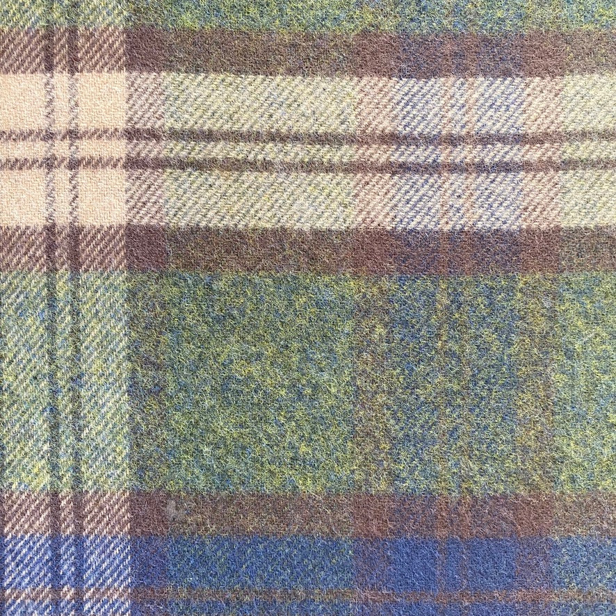 Heritage Forth Scottish Lambswool Double Face Throw
