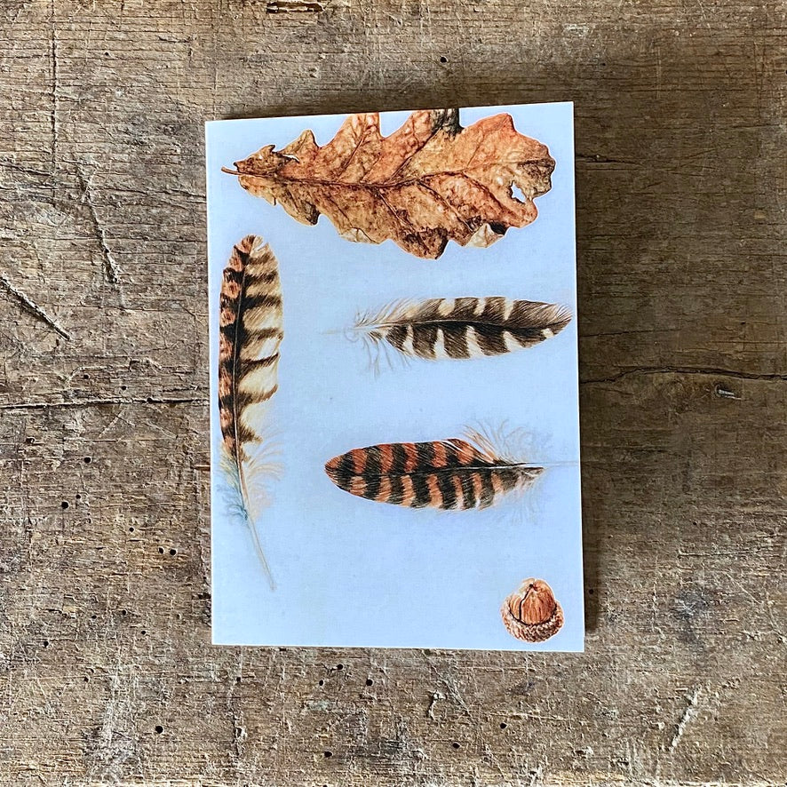 Recipe for Autumn Greeting Card