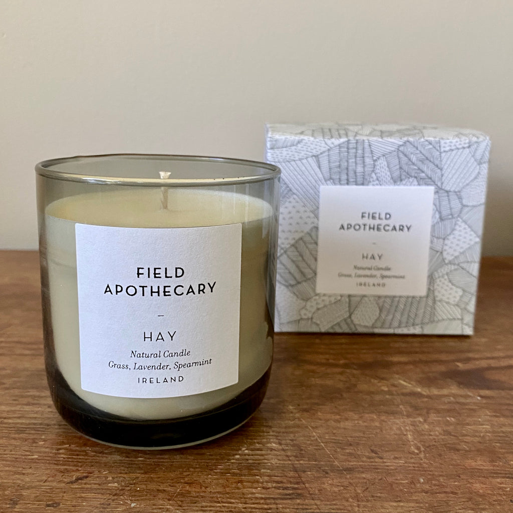 Hay Candle by Field Apothecary