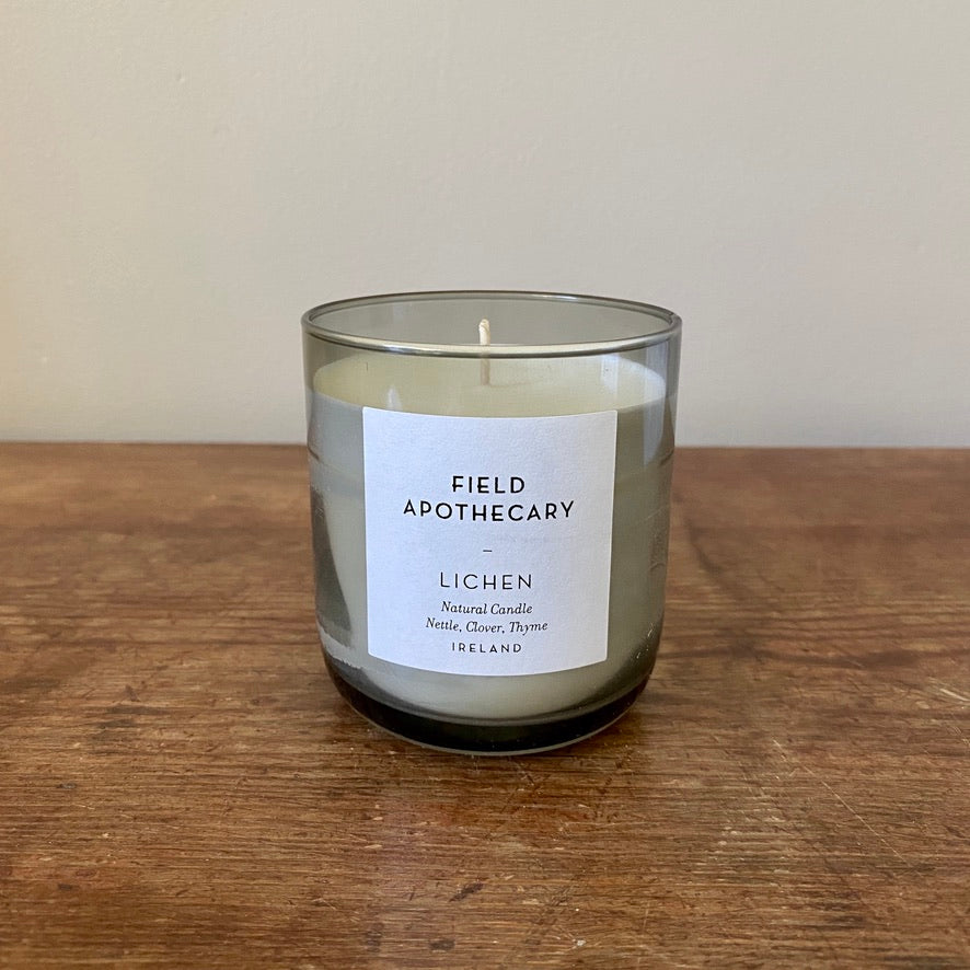 Lichen Candle from Field Apothecary