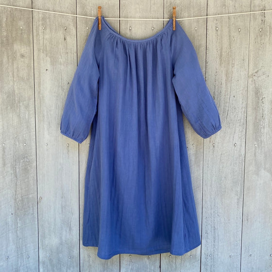 Dutch Blue Cotton Tunic