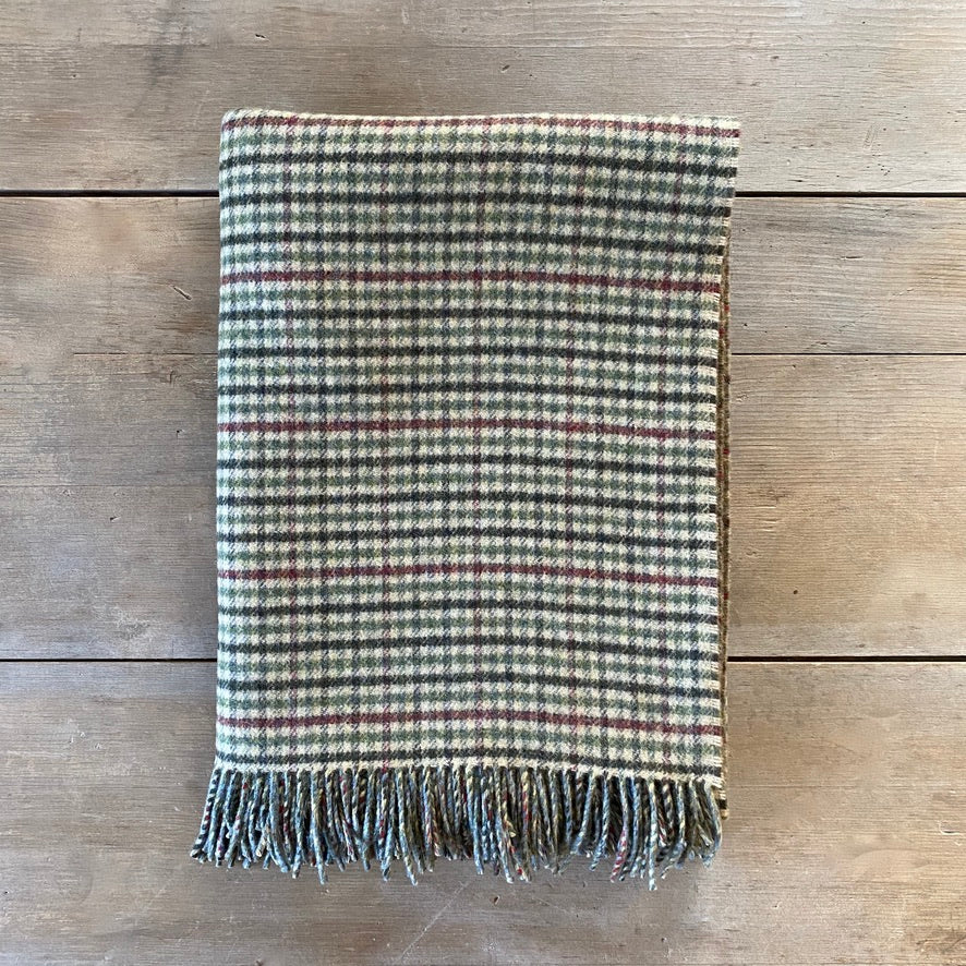 Heritage Lossiemouth Scottish Double Face Lambswool Throw