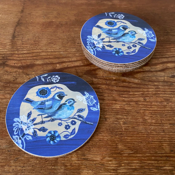 Two Birds Coaster by Nathalie Lete