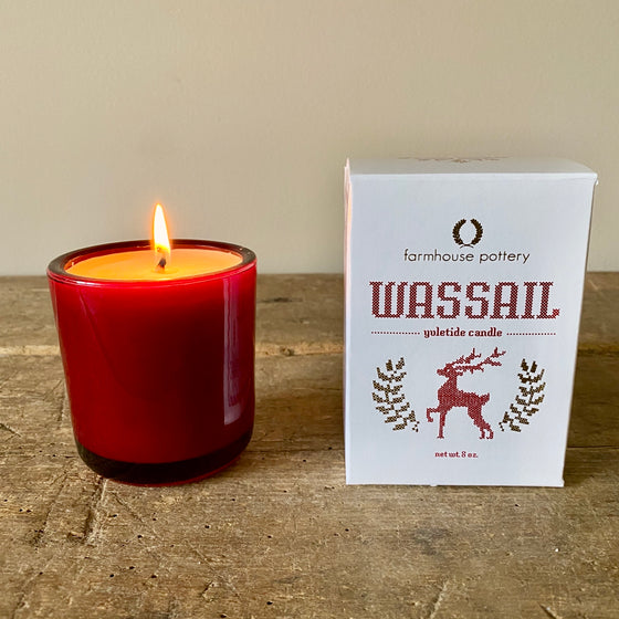 Limited Edition Wassail Yuletide Candle