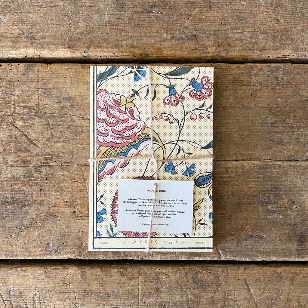 French 18th Century Inspired Notebook - Flower Garlands