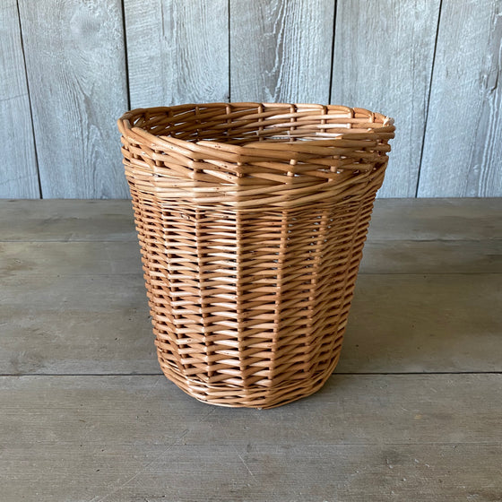 Scottish Buff Willow Kindling Basket