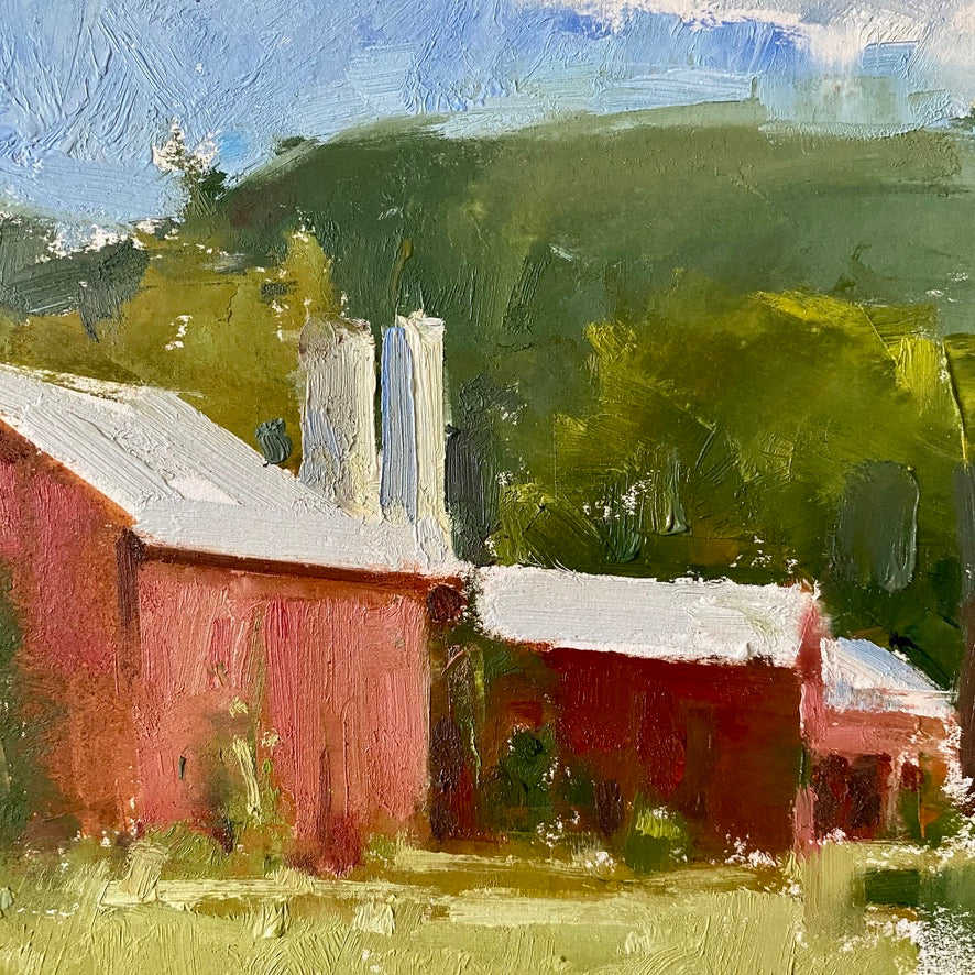 Midsummer Barns by Jared Clackner