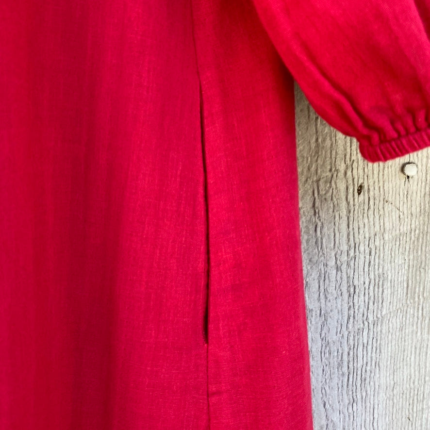 Indian Pink Cotton Tunic