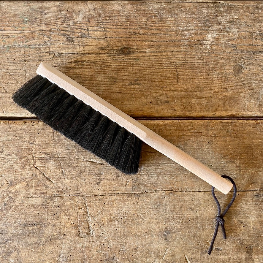 Traditional Horsehair Dust Brush