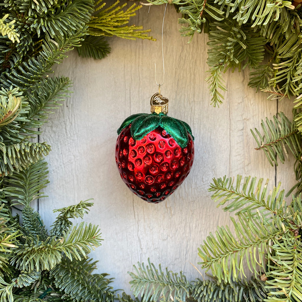 Summer Strawberry Christmas Tree Ornament