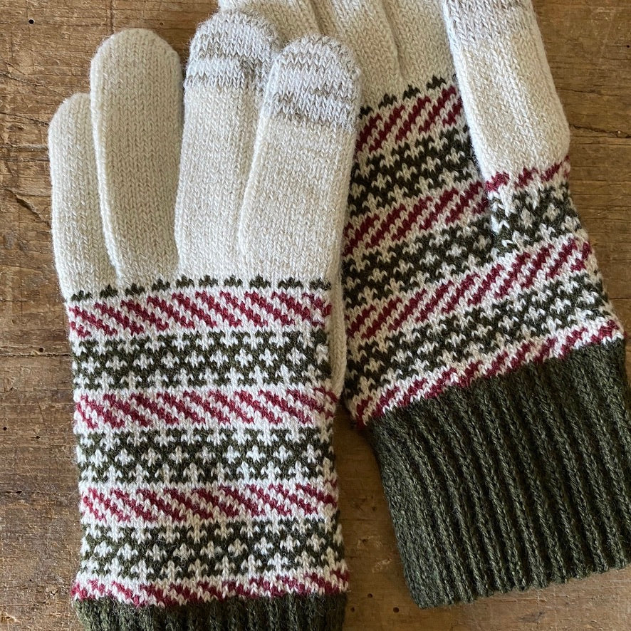 Decode Wool Touchscreen Gloves - Silver