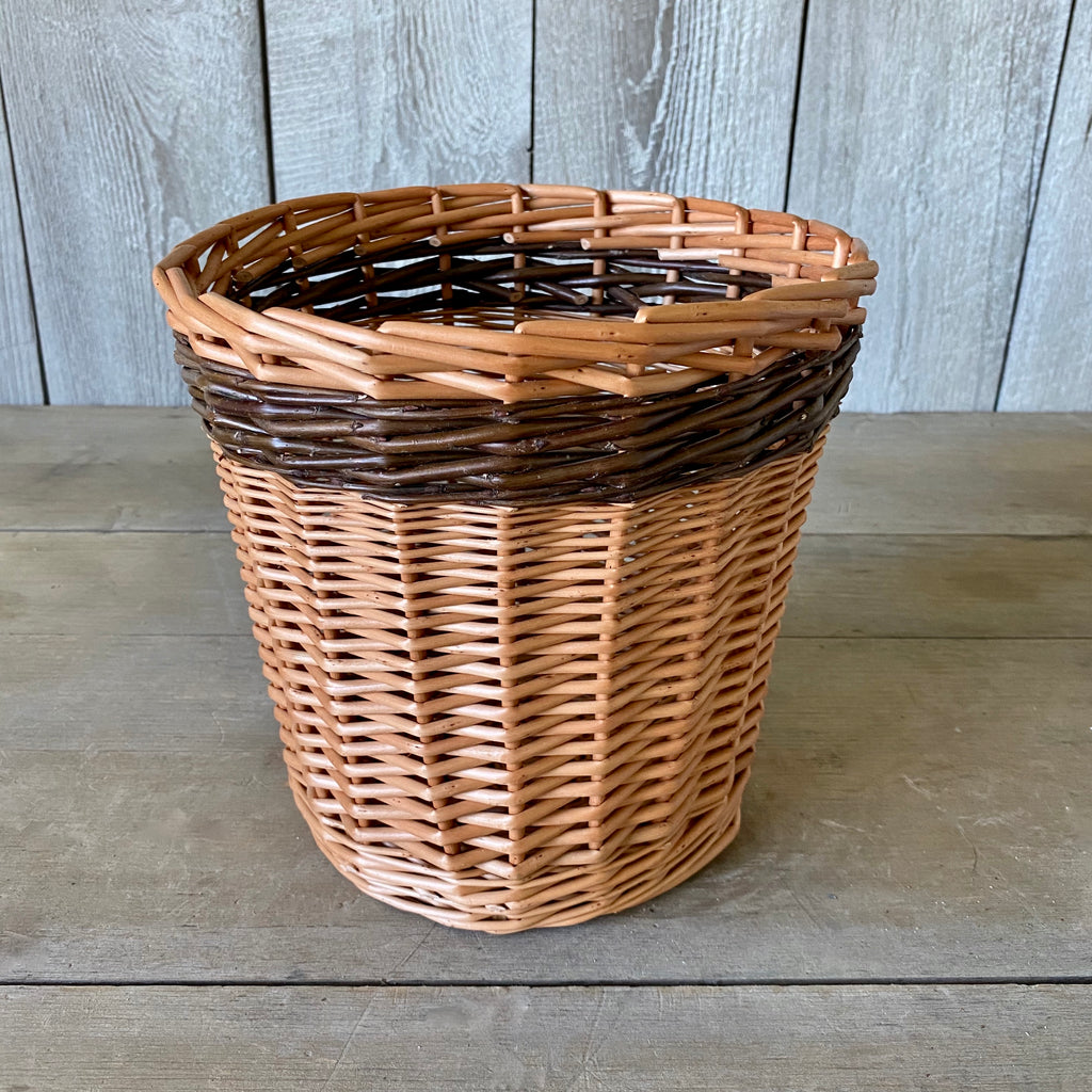 Scottish Buff and Steamed Willow Kindling Basket