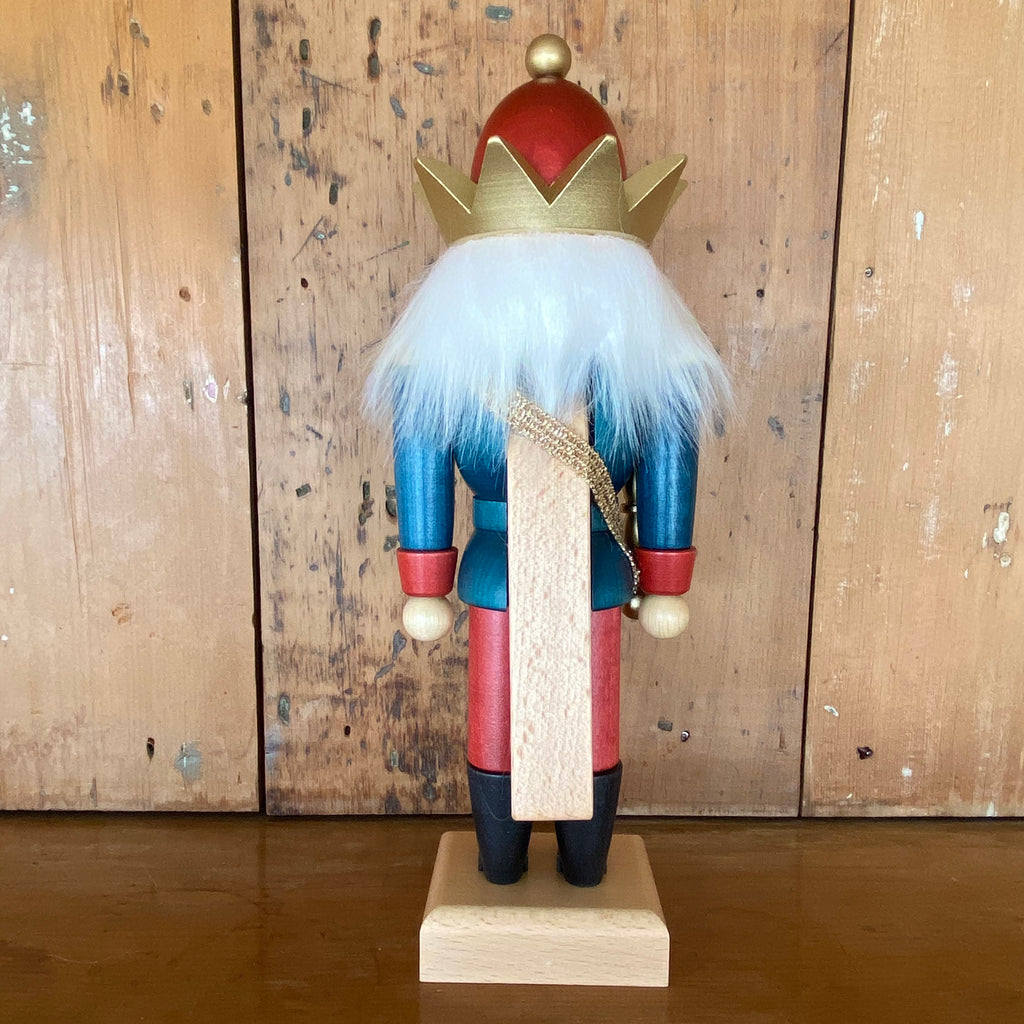 Blue King Nutcracker