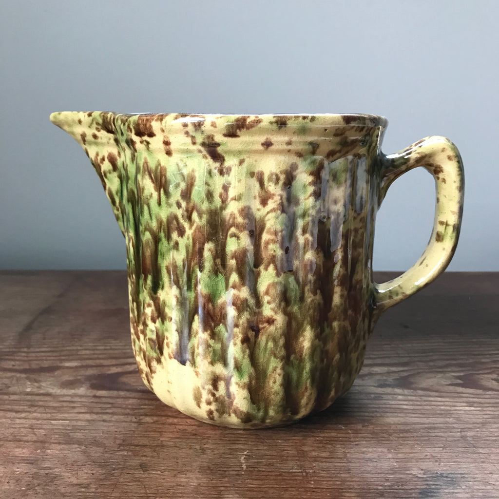 Woodland Glazed Yelloware Pitcher