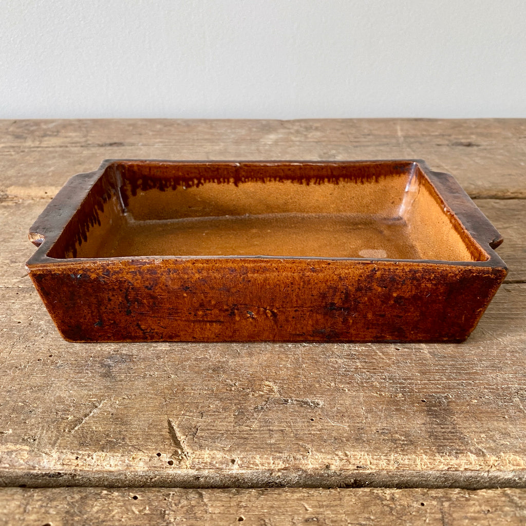 Antique French Baking Dish