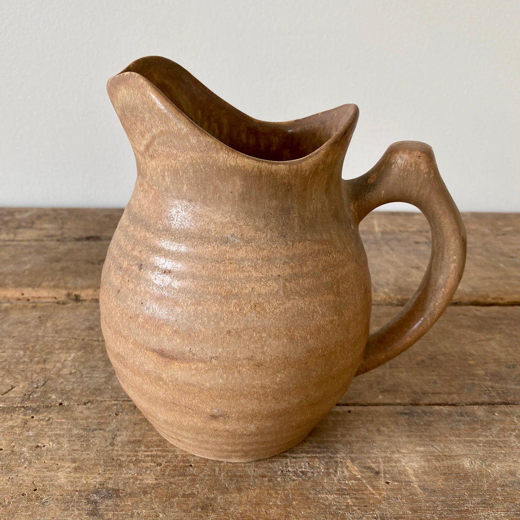 Ribbed French Pitcher