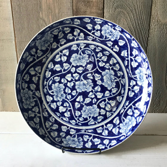 Chinese Porcelain Peony Plate