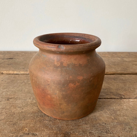 Antique American Redware Crock