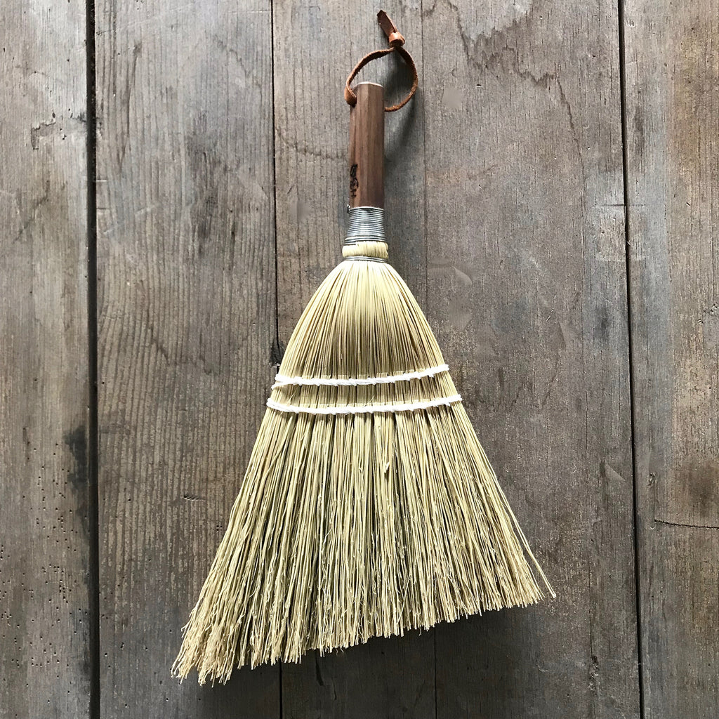 Corn and Walnut Whisk Broom