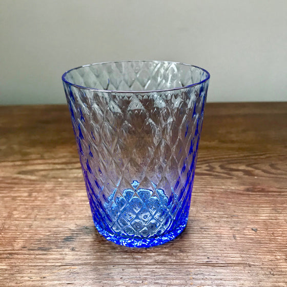 Venetian Glass Tumblers - Light Blue