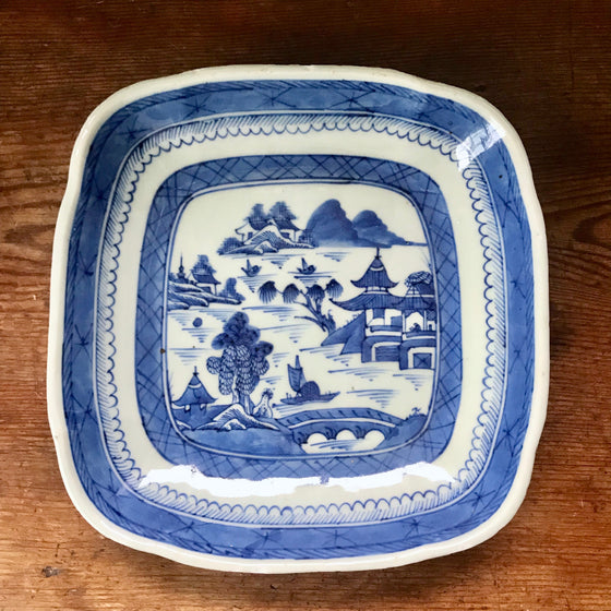 19th Century Chinese Export Porcelain Plate