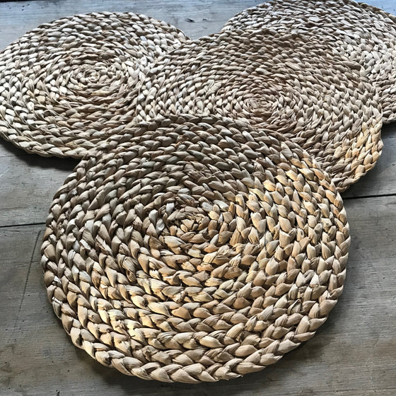 Braided Seagrass Placemats - Set of 4