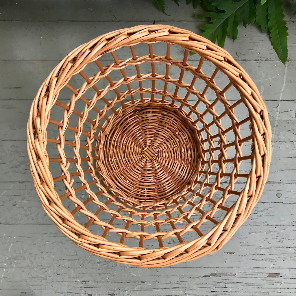 Scottish Fitched Willow Waste Basket