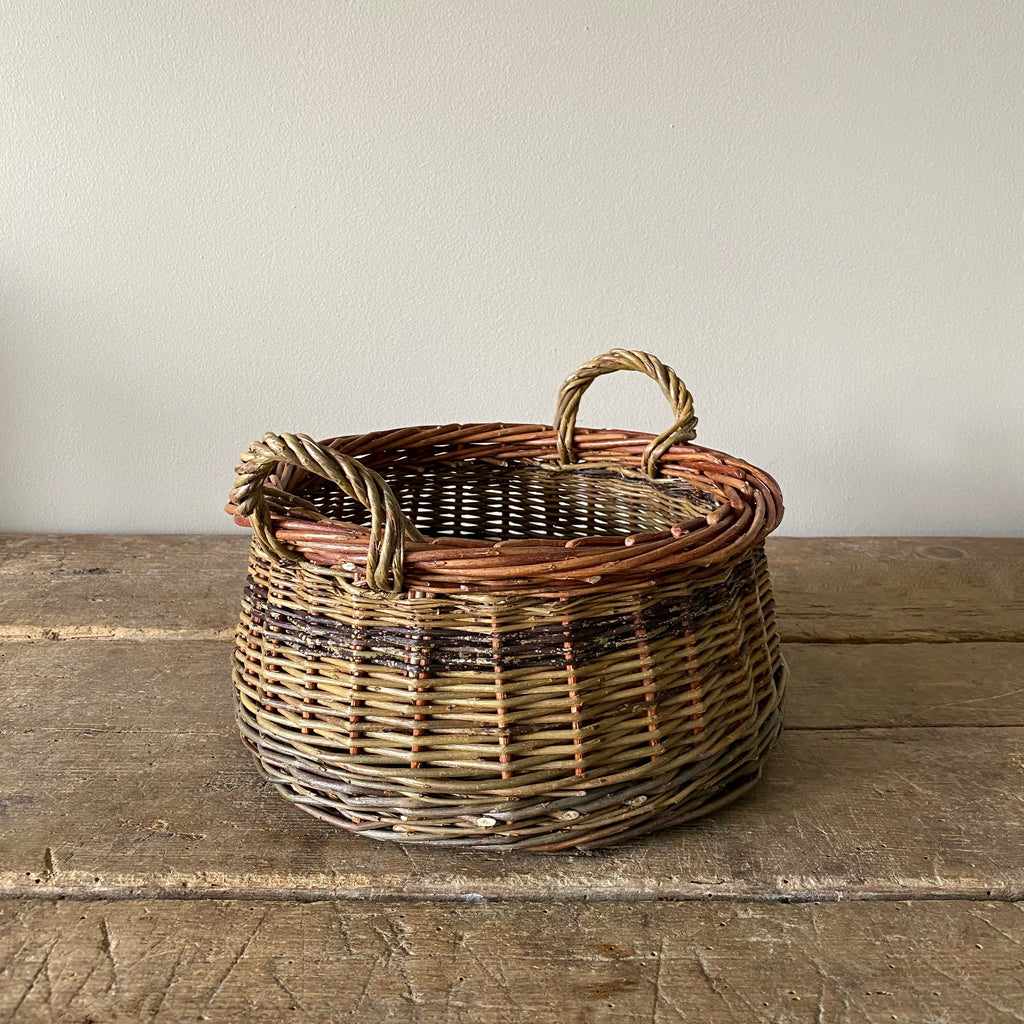 Large Willow Walnut Basket