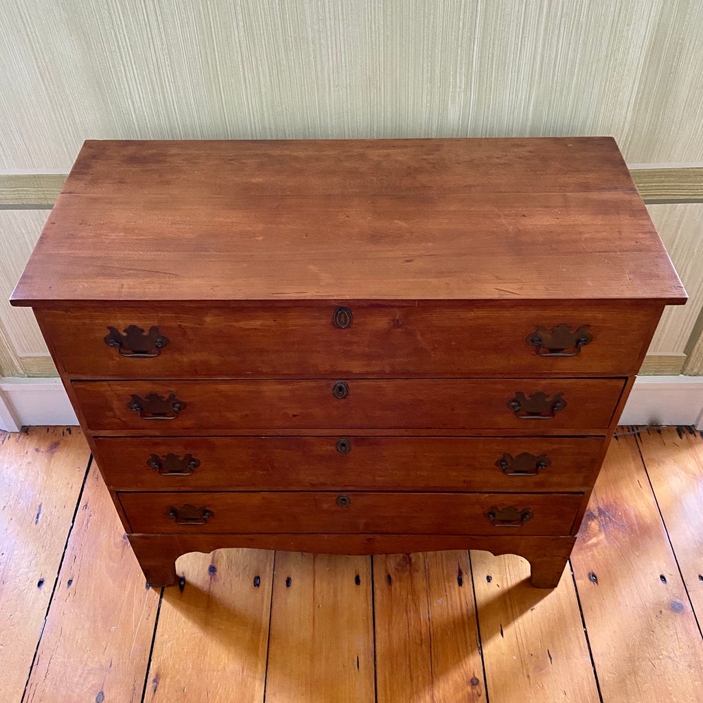 18th Century American Birch Chest of Drawers