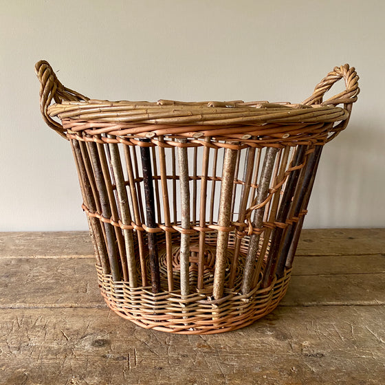 Willow Cran Basket