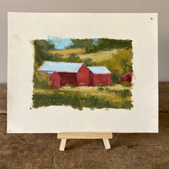 The Red Barns by Jared Clackner
