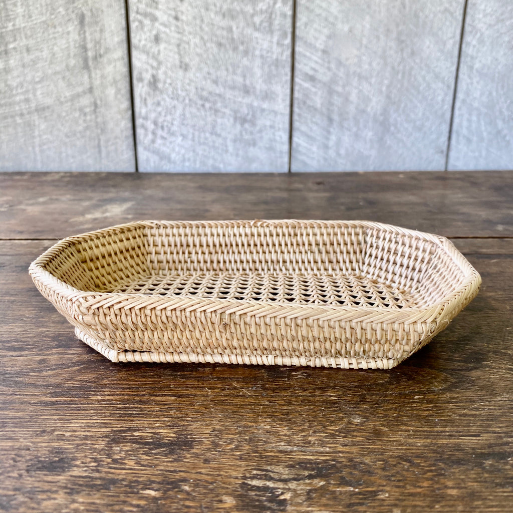 Small Reed Octagonal Tray