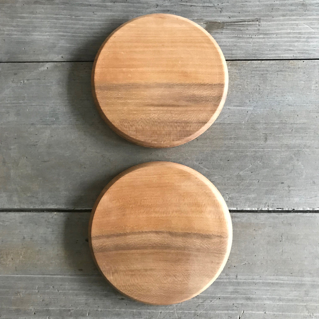 Round Sycamore Cutting Board
