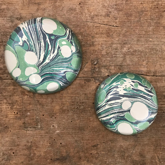 Moss Stone Paperweights