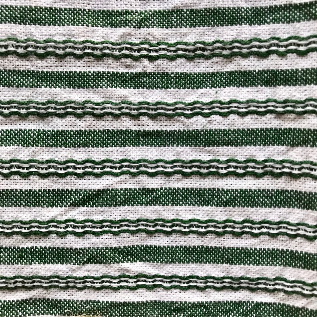 Hunter Green Canyon Stripe Napkins