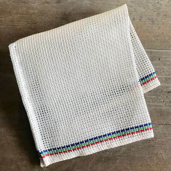 Multi-Colored Linen Dish Cloth