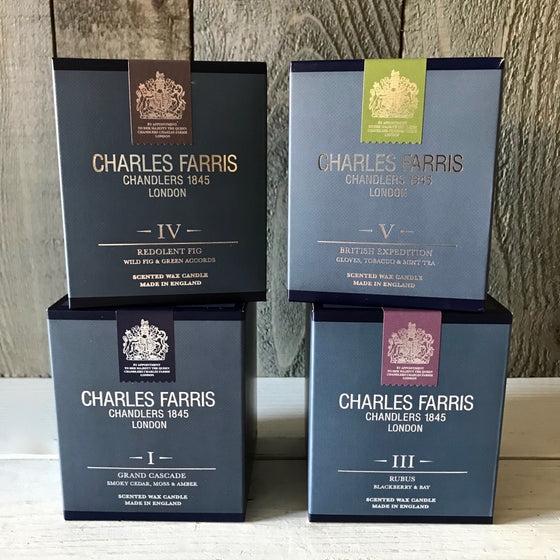 Charles Farris Signature Scented Candles