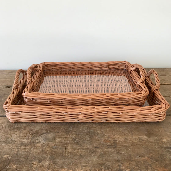 Scottish Willow Serving Trays