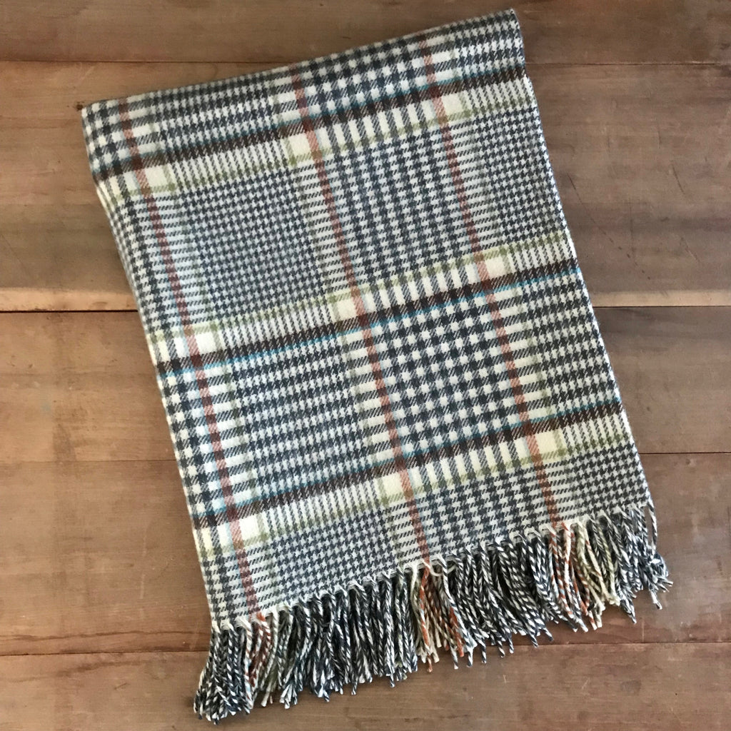 Scottish Lambswool Throw - Clyde
