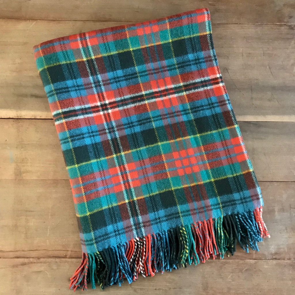 Scottish Tartan Throw - Kidd Ancient