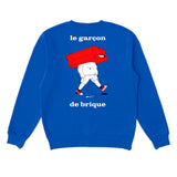 The Brick Boy Sweatshirt - Blue