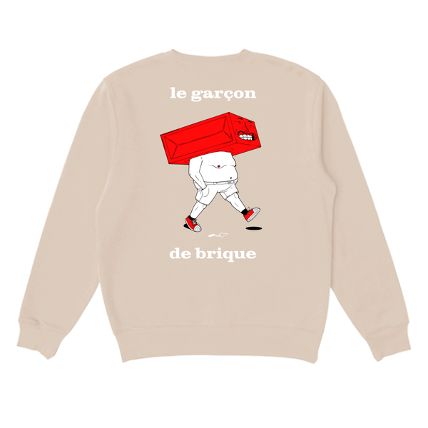 The Brick Boy Sweatshirt - Beige