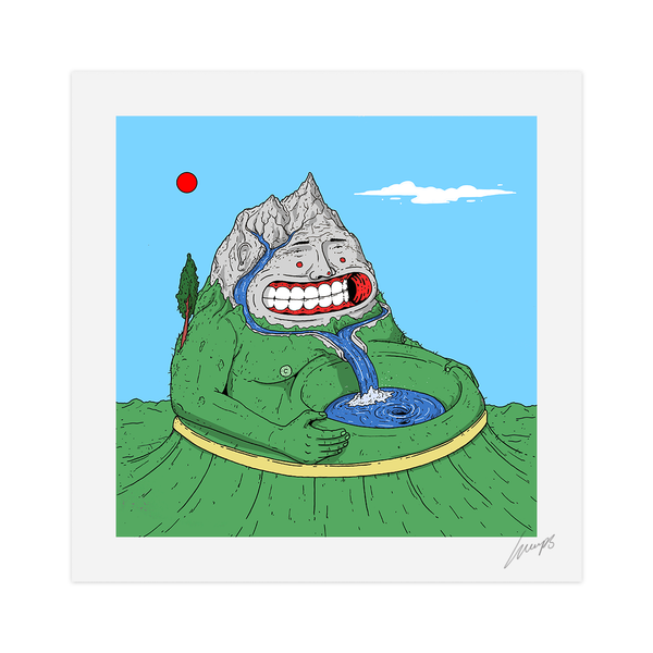 """Mountain Boy"" Limited Edition Print"