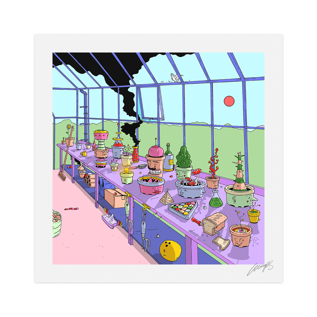 """Potting Shed"" Limited Edition Print"