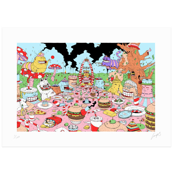 """Lumpy Tea Party"""