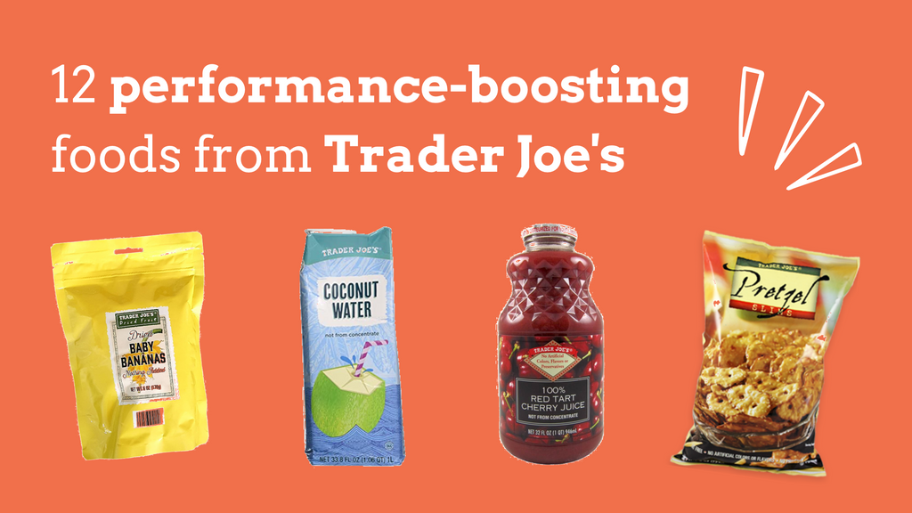 12 performance-boosting foods from Trader Joe's for runners