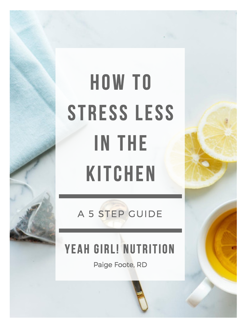 How to Stress Less in the Kitchen
