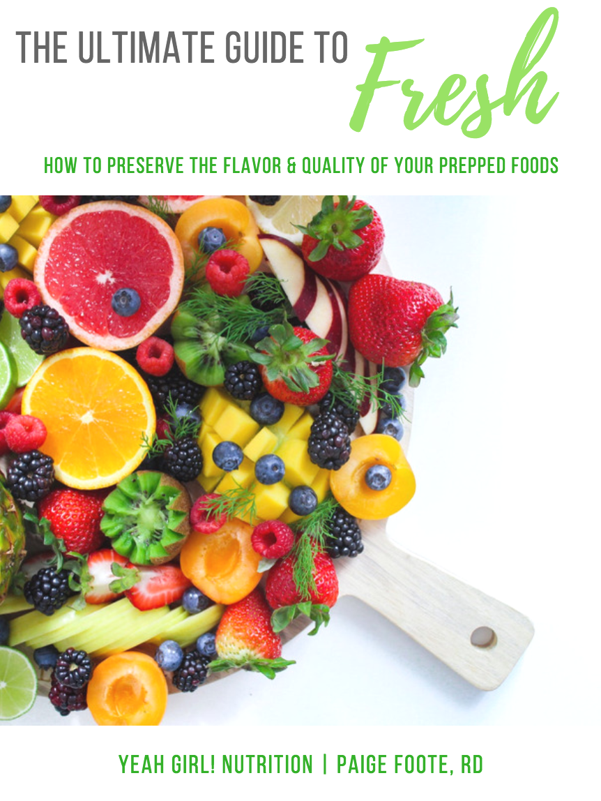 HOW TO PRESERVE THE FLAVOR & QUALITY OF YOUR PREPPED FOODS